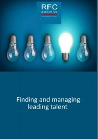 Finding and Managing Leading Talent