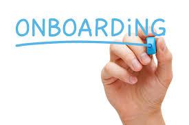 Onboarding plan