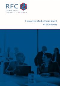 Executive Market Sentiment H1 2020