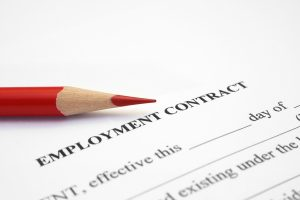Employment contract- contractor